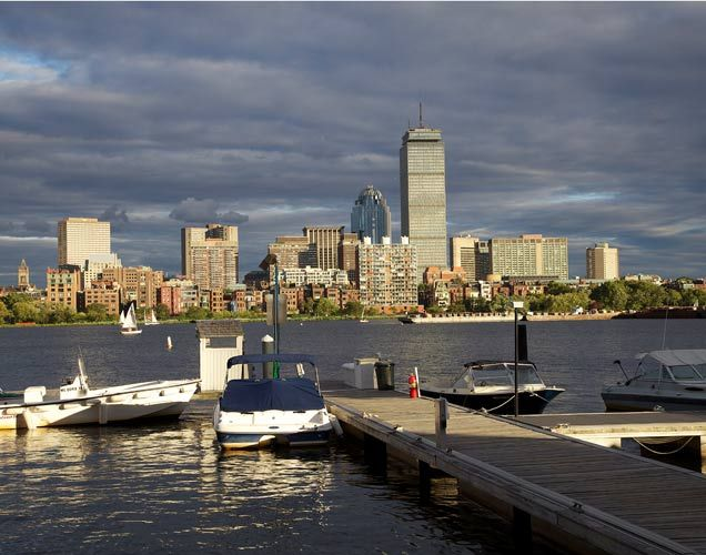 Boston's Back Bay, Photograph by Barby Almy