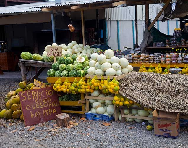Veggie Stand, Costa Rica – Photography by Barby Almy
