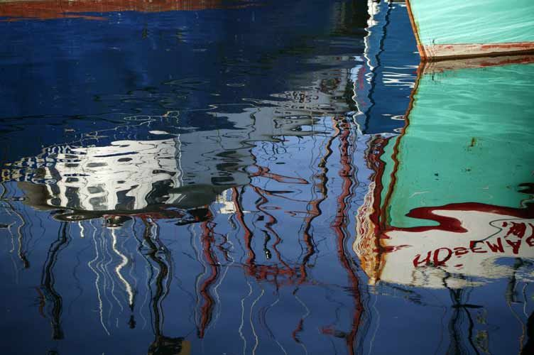 Gloucester Reflections1 – Photograph by Barby Almy