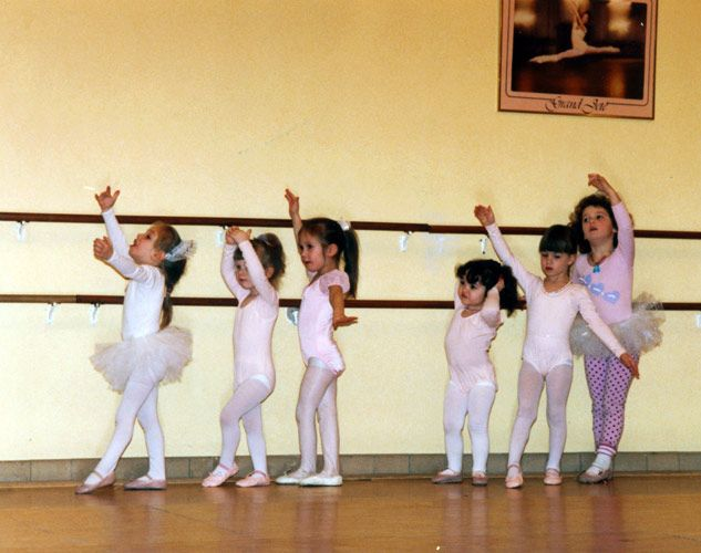 Kate's Ballet Class – Photography by Barby Almy