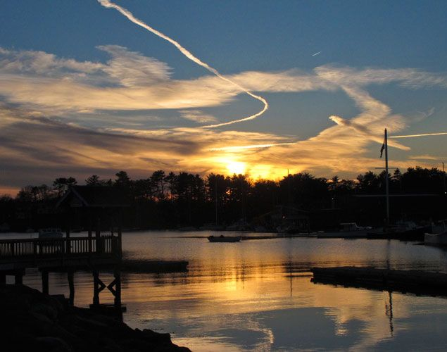 Manchester Harbor Sunset – Photography by Barby Almy