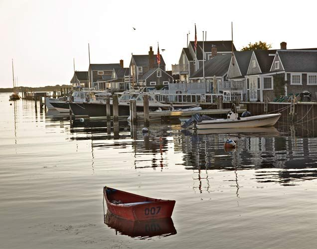 Early Morning, Nantucket by Barby Almy