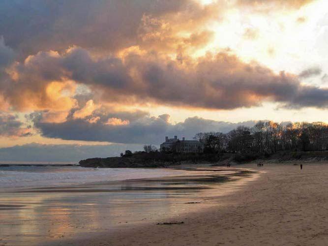 Christmas Sunset, Singing Beach