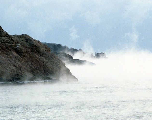 Sea Smoke, Singing Beach – Photography by Barby Almy