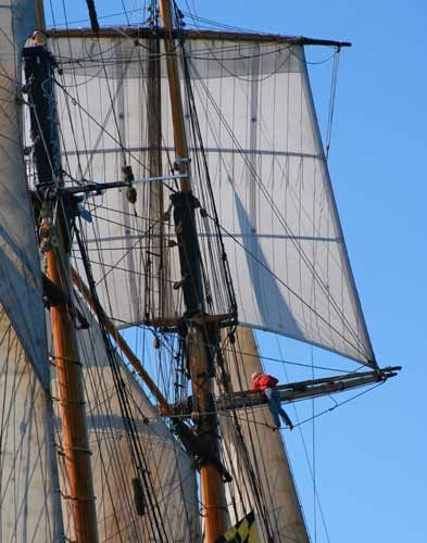A Tall Ship High – Photograph by Barby Almy