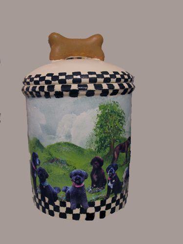 Treat Jar – by Barby Almy