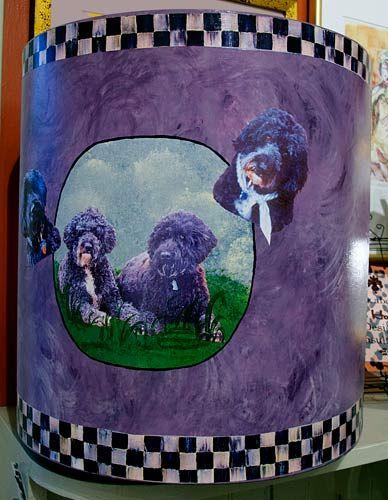 Wastebasket by Barby Almy