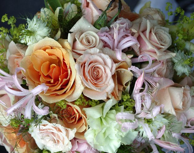 Wedding Bouquet – Photograph by Barby Almy