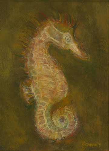 Sea Horse by Kathy Connolly